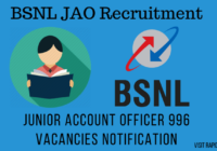 bsnl jao recruitment images