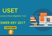 new USET Answer Key and cut off list