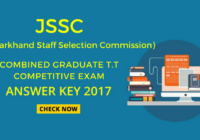 jssc tt answer key download