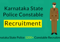 upcoming Karnataka Police Constable Recruitment
