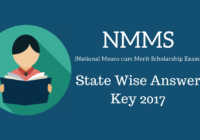 nmms latest answer key 2017